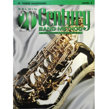 Belwin 21st Century Band Method - Tenor Saxophone, Level 3