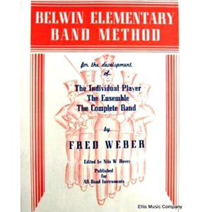 Belwin Elementary Band Method - Baritone Treble Clef