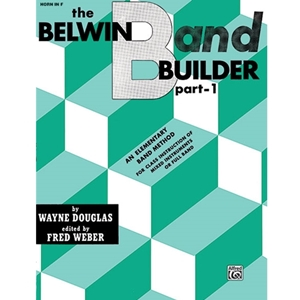 Belwin Band Builder - French Horn, Part 1
