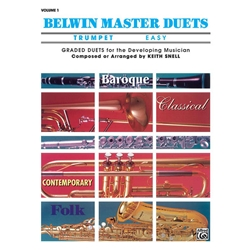 Belwin Master Duets for Trumpet, Easy Volume 1