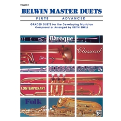 Belwin Master Duets for Trumpet, Advanced Volume 1