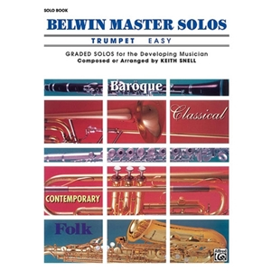 Belwin Master Solos for Trumpet, Volume 1 Easy