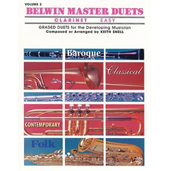 Belwin Master Duets for Clarinet, Easy Volume 2