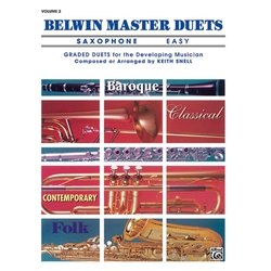 Belwin Master Duets for Saxophone, Easy Volume 2