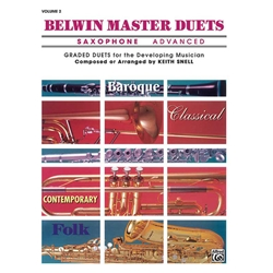 Belwin Master Duets for Saxophone, Advanced Volume 2