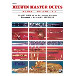 Belwin Master Duets for Trumpet, Intermediate Volume 2