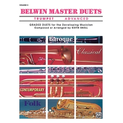 Belwin Master Duets for Trumpet, Advanced Volume 2