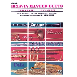 Belwin Master Duets for Trombone, Advanced Volume 2