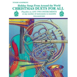 Christmas Duets for All - Tenor Saxophone