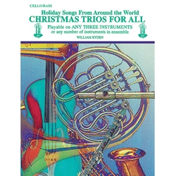 Christmas Trios for All - Cello or Bass