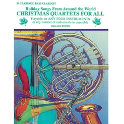 Christmas Quartets for All - Clarinet or Bass Clarinet