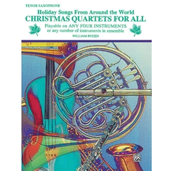 Christmas Quartets for All - Tenor Saxophone