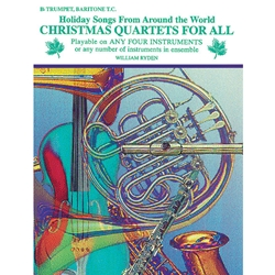 Christmas Quartets for All - Trumpet or Baritone T.C.
