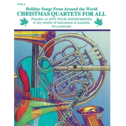 Christmas Quartets for All - Viola