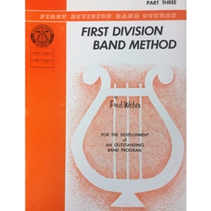 First Division Band Method - Trombone, Part 3