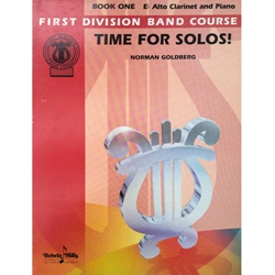 First Division Time for Solos for Alto Clarinet & Piano, Book 1