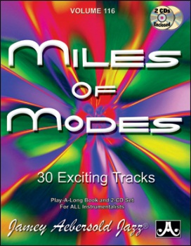 Aebersold Volume 116 - Miles of Modes