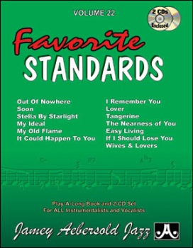 Aebersold Volume 22 - Favorite Standards