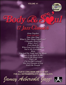 Aebersold Volume 41 - Body and Soul