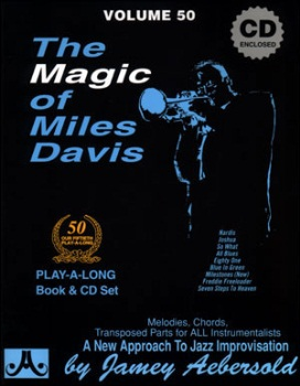 Aebersold Volume 50 - The Magic of Miles Davis