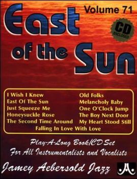 Aebersold Volume 71 - East of the Sun