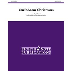 Caribbean Christmas for Brass Quintet (Opt. Percussion)