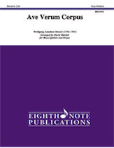 Ave Verum Corpus for Brass Quintet and Organ