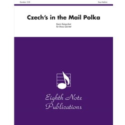 Czech's in the Mail Polka for Brass Quintet