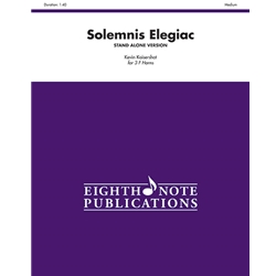 Solemnis Elegiac for 3 F Horns (stand alone version)