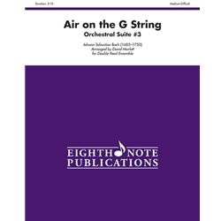 Air on the G String (from Orchestral Suite No. 3) for Double Reed Ensemble