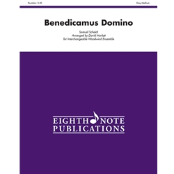 Benedicamus Domino for Interchangeable Woodwind Ensemble