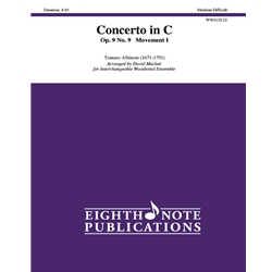 Concerto in C Op.9 No.9 Movement 1 for Woodwind Ensemble