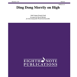 Ding Dong Merrily on High for Interchangeable Woodwind Ensemble