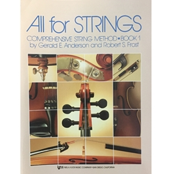 All for Strings - String Bass, Book 1
