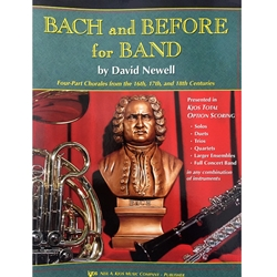 Bach and Before for Band - Tenor Saxophone