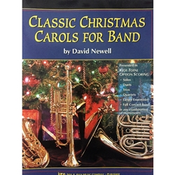 Classic Christmas Carols for Band - Clarinet (or Bass Clarinet)