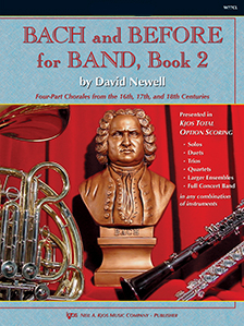 Bach and Before for Band Book 2 - Alto Saxophone or Baritone Saxophone
