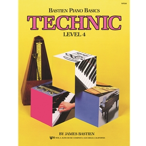 Bastien Piano Basics Technic, Level 4