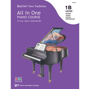 Bastien New Traditions All-in-One Piano Course - Level 1B