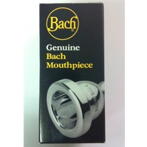 Bach 7C Small Shank Silver-Plated Trombone or Baritone Mouthpiece