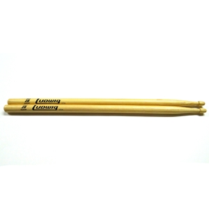 Ludwig 2B Wood Tip Drum Sticks