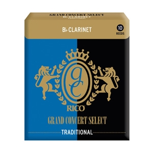 Rico Grand Concert Select Traditional Bb Clarinet Reeds #4 (10pk)