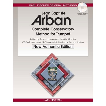 Arban Complete Conservatory Method for Trumpet (traditional binding)