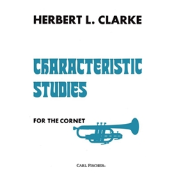 Herbert L Clarke Characteristic Studies For The Cornet Ellis Music