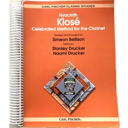 Celebrated Method for the Clarinet (spiral bound)