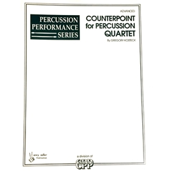 Counterpoint for Percussion Quartet