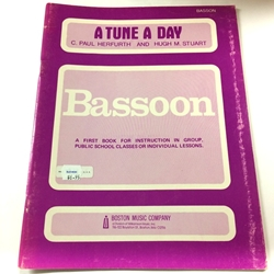A Tune a Day - Bassoon, Book 1