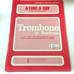 A Tune a Day - Trombone, Book 1