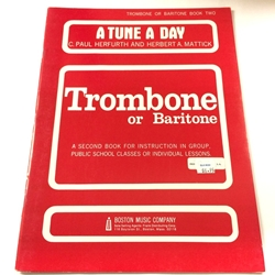 A Tune a Day - Trombone, Book 2