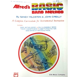 Alfred's Basic Band Method - Alto Saxophone (or Baritone Sax), Book 2